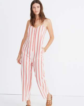 Madewell Striped Cami Jumpsuit