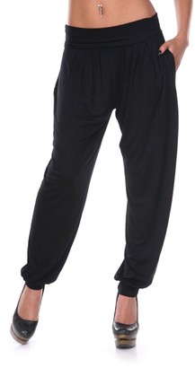 White Mark Soft Jogger Pants - Women's