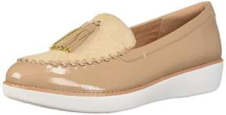 FitFlop Women's Paige Faux-Pony Moccasin Loafer Flat