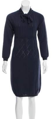 St. John Knit Sweater Dress