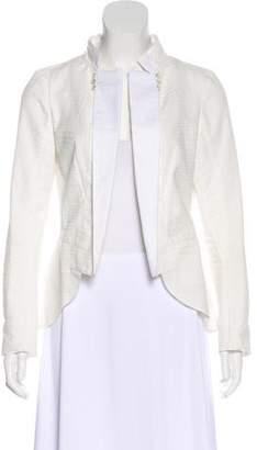 Nina Ricci Embellished Open Front Jacket