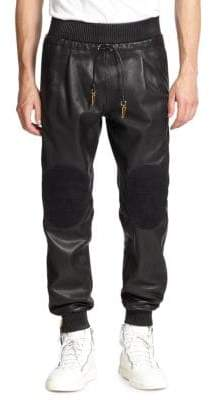 G Star Leather Pants