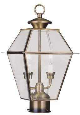 Three Posts Olesen Outdoor 2-Light Lantern Head