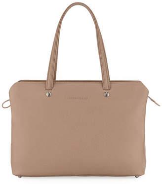 Longchamp Le Foulonne Leather Shoulder Tote Bag