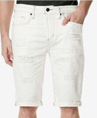 Buffalo David Bitton Men's Parker Slim-Fit Jean Shorts