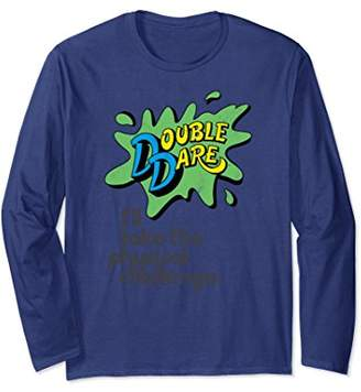 Nickelodeon Double Dare Splat Challenge Long Sleeve T