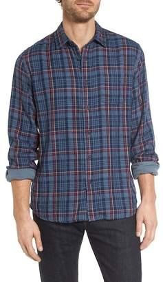 Grayers Alton Double Cloth Plaid Sport Shirt