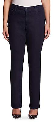 NYDJ NYDJ, Plus Size NYDJ, Plus Size Women's Plus Straight-Leg Jeans