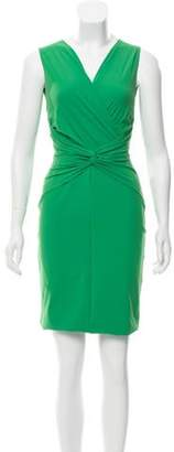 Chiara Boni Knee-Length Bodycon Dress Green Knee-Length Bodycon Dress