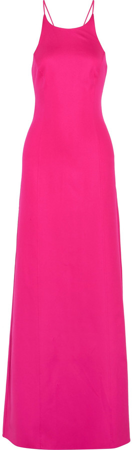 MICHAEL Michael Kors Michael Kors Collection Cutout stretch-silk crepe gown