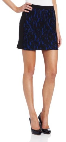 Robbi & Nikki Women's Lace Mini Skirt