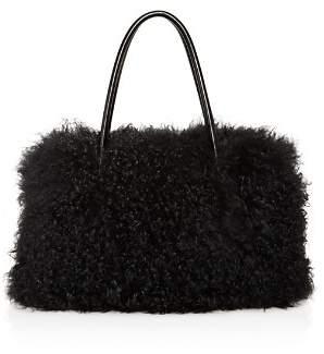 Maximilian Furs Tibetan Lamb Fur Tote - 100% Exclusive