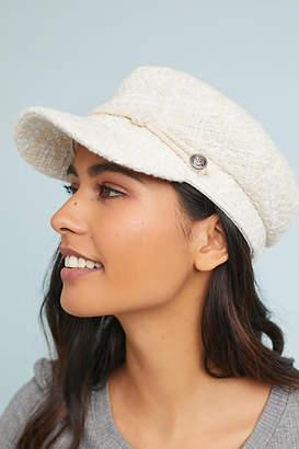 Anthropologie Tweed Engineer Hat