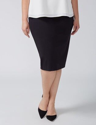 Lane Bryant Ponte Pencil Skirt