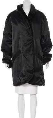 Sonia Rykiel Belted Knee-Length Coat