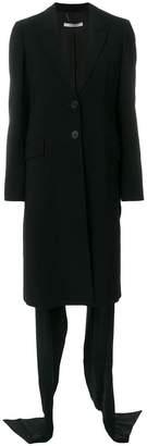 Givenchy train detail coat