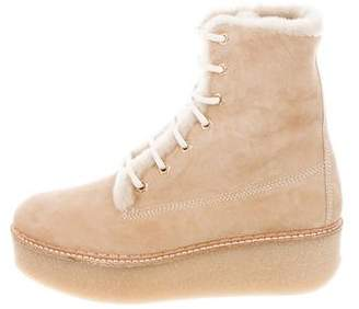 Flamingos Stacy Flatform Ankle Boots w/ Tags