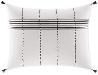 ED Ellen Degeneres Alta Striped Tassel Breakfast Decorative Pillow Bedding