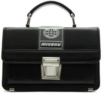 Misbhv Black Logo Briefcase