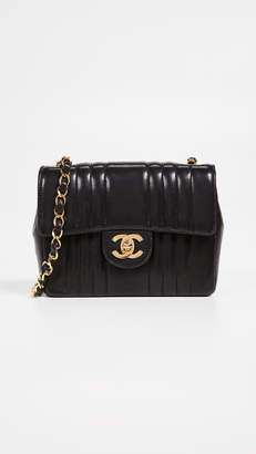 Chanel What Goes Around Comes Around Vert Flap Mini Bag