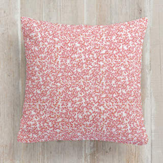 Floral Burst Square Pillow