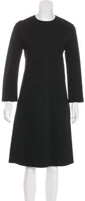 Celine Long Sleeve Midi Dress