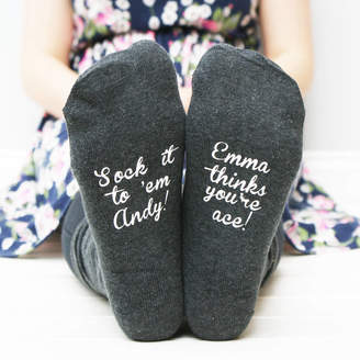Sparks And Daughters Personalised Women's Sock It To Them Socks