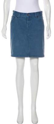 Stella McCartney Denim Mini Skirt