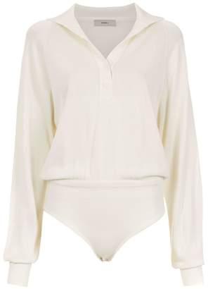 Egrey shirt bodysuit