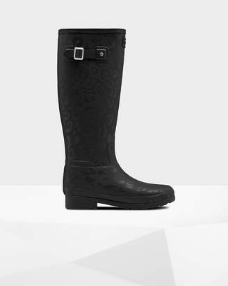 Hunter Women's Refined Insulated Slim Fit Tall Rain Boots