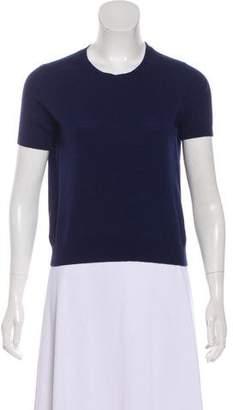 Prada Wool Short Sleeve Sweater