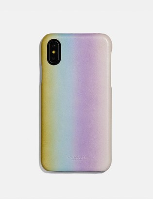 Coach Iphone X/Xs Case With Ombre