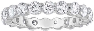 Neiman Marcus Diamonds 18k White Gold Diamond Eternity Band, 2.00tcw, Size 6