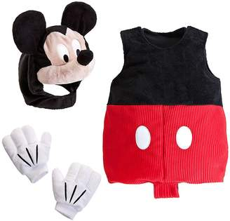 Disney Store Deluxe Mickey Mouse Plush Costume for Baby Size 18 - 24 Months 2T