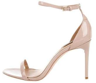 Rachel Zoe Patent Leather Ankle Strap Sandals