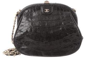 Chanel Crocodile Evening Bag