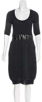 Sacai Wool Midi Dress w/ Tags