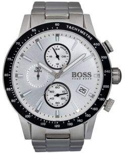 HUGO BOSS Rafale Competitive Sport, Chronograph Watch 1513511 One Size Assorted-Pre-Pack
