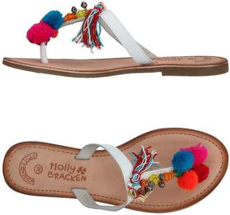 Molly Bracken Toe strap sandals - Item 11375651
