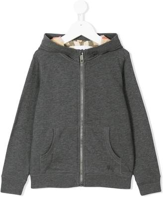 Burberry Hooded Cotton Top