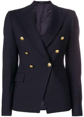 Tagliatore lapel detail blazer