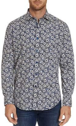 Robert Graham Garnet Floral-Printed Classic Fit Shirt