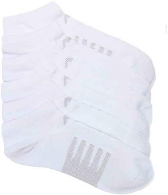 New Balance Stripe No Show Socks - 6 Pack - Men's