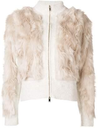 Stella McCartney cropped textured jacket