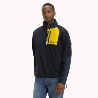 Tommy Hilfiger Mixed Media Polar Fleece Jacket