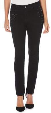 Rafaella Embellished Skinny Jeans
