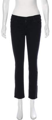 Joe's Jeans Low-Rise Skinny Denim