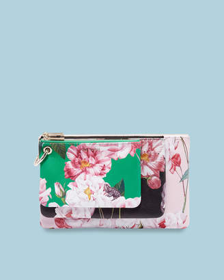 Ted Baker FORAYY Iguazu leather triple pouch