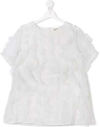Douuod Kids TEEN ruffled blouse