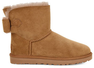 Ugg Naveah Classic Bailey Sheepskin & Leather Boots $170 thestylecure.com
